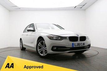 2016 BMW 3 SERIES 2.0 316D SPORT 4d 114 BHP £12395.00