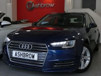USED 2016 16 AUDI A4 AVANT 2.0 TDI ULTRA SPORT 5d 150 S/S 1 OWNER, FULL AUDI HISTORY, £20 ROAD TAX, SAT NAV, AUDI SMART PHONE WITH APPLE CAR PLAY & ANDROID AUTO, AUDI CONNECT, DAB RADIO, CRUISE CONTROL WITH SPEED LIMITER, LED DAYTIME RUNNING LIGHTS, XENON HEADLIGHTS, BLUETOOTH PHONE & MUSIC STREAMING, REAR PARKING SENSORS, MANUAL 6 SPEED, ELECTRIC TAILGATE, PORT SEATS, LEATHER MULTIFUNCTION STEERING WHEEL, LIGHT & RAIN SENSORS, AUDI DRIVE SELECT,  KEYLESS START, WIFI, AUX INPUT, 2x USB PORTS, ILLUMINATING VANITY MIRRORS, VAT QUALIFYING