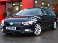 USED 2015 65 VOLKSWAGEN PASSAT ESTATE 2.0 TDI SE BLUEMOTION TECH DSG 5d 150 S/S FULL SERVICE HISTORY, £30 ROAD TAX (119 G/KM), FRONT & REAR PARKING SENSORS WITH DISPLAY (PARK PILOT), DAB RADIO, BLUETOOTH PHONE & MUSIC STREAMING, ADAPTIVE CRUISE CONTROL WITH FRONT ASSIST, 17 INCH 10 SPOKE ALLOYS, GREY CLOTH INTERIOR, LEATHER FLAT BOTTOM MULTIFUNCTION STEERING WHEEL, LIGHT & RAIN SENSORS, KEYLESS START, AIR CONDITIONING, AUTO HILL HOLD, DRIVING MODE SELECT, AUX & USB INPUTS, PARTIALLY ELECTRIC DRIVERS SEAT WITH LUMBAR SUPPORT, TYRE PRESSURE MONITOR, VAT QUALIFYING