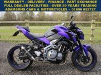 2017 KAWASAKI ZR 0.9 ZR 900 BHF 1d 123 BHP £5995.00
