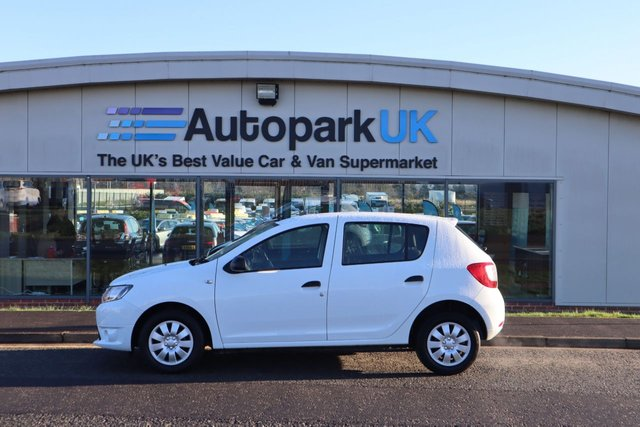 USED 2014 14 DACIA SANDERO 1.1 AMBIANCE 5d 75 BHP LOW DEPOSIT OR NO DEPOSIT FINANCE AVAILABLE