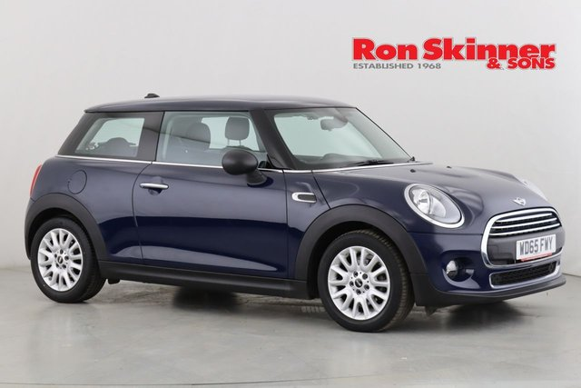 View our 2015 65 MINI HATCH ONE 1.5 ONE D 3d 94 BHP with Pepper pack + 16in Alloys
