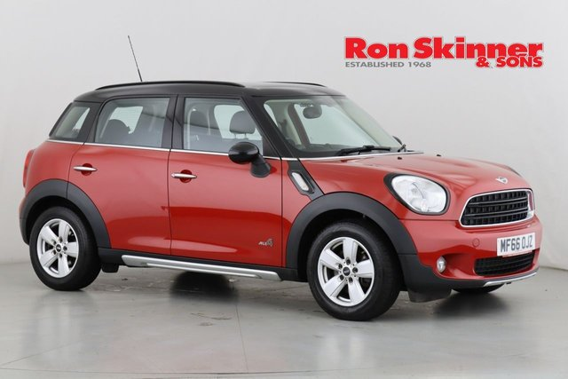 View our 2016 66 MINI COUNTRYMAN 1.6 COOPER D ALL4 5d 112 BHP with Pepper Pack + Black Roof