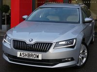USED 2015 65 SKODA SUPERB ESTATE 2.0 TDI SE L EXECUTIVE 5d 150 S/S £20 TAX, 1 OWNER, FULL SKODA SERV HIST, COLUMBUS HDD SAT NAV JUKEBOX & DVD PLAYBACK, HEATED FRONT SEATS, FULL BEIGE LEATHER INTERIOR, SPORT SEATS, ELECTRIC MEMORY DRIVER'S SEAT, BLUETOOTH PHONE & AUDIO STREAMING, ADAPTIVE CRUISE CONTROL W/ FRONT ASSIST, XENON HEADLIGHTS W/ LED DAYTIME RUNNING LIGHTS, PARK PILOT REAR PARKING SENSORS W/ DISPLAY, 18 IN 10 SPOKE ALLOYS, ELEC FOLDING HEATED DOOR MIRRORS, DAB, AUX/USB INPUTS, WIRELESS LAN, SMART LINK FOR APPLE CAR PLAY / ANDROID AUTO, VAT QUALIFYING.