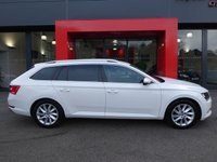 USED 2015 65 SKODA SUPERB ESTATE 2.0 TDI SE BUSINESS 5d 150 S/S 1 OWNER, FULL SKODA HISTORY, CAMBELT & WATER PUMP CHANGED, £20 ROAD TAX, SAT NAV, SMART LINK FOR APPLE CARPLAY / ANDROID AUTO, LEATHER ALCANTARA UPHOLSTERY, FRONT & REAR PARKING SENSORS WITH DISPLAY (PARK PILOT), DAB RADIO, BLUETOOTH PHONE & MUSIC STREAMING, ADAPTIVE CRUISE CONTROL WITH FRONT ASSIST, AUTO HILL HOLD, AUX & USB INPUTS, LIGHT & RAIN SENSORS, ELECTRIC HEATED FOLDING DOOR MIRRORS, ELECTRIC DRIVER SEAT WITH MEMORY, LEATHER MULTIFUNCTION STEERING WHEEL, CLIMATE CONTROL, DRIVE SELECT