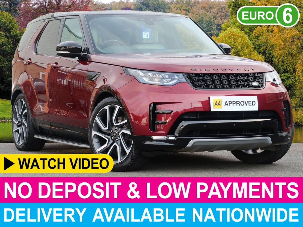 "USED 2017 17 LAND ROVER DISCOVERY 3.0 TD6 AUTO HSE LUXURY DYNAMIC DESIGN PACK DYNAMIC DESIGN PACK 22"" ALLOYS"