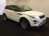 2012 LAND ROVER RANGE ROVER EVOQUE 2.2 SD4 DYNAMIC LUX 5d 190 BHP 4X4 AWD 4WD £17975.00