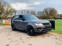 USED 2016 66 LAND ROVER RANGE ROVER SPORT 3.0 SDV6 HSE DYNAMIC 5d 306 BHP Balance Of 5 Year Service Plan! Pan Roof, Heated Steering Wheel!