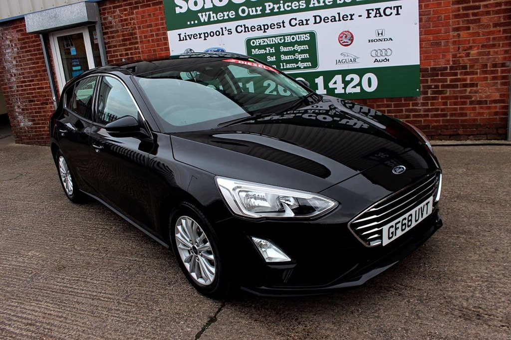 USED 2018 68 FORD FOCUS 1.5 TITANIUM TDCI 5d 119 BHP +ONE OWNER +APL CAR PLAY +MORE