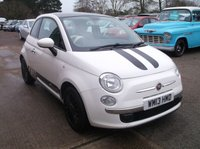 USED 2013 13 FIAT 500 1.2 LOUNGE 3d 69 BHP Lovely Driving, Economical Fiat 500! Black Alloy Wheels and We Will Put a New MOT on The Vehicle When Sold!