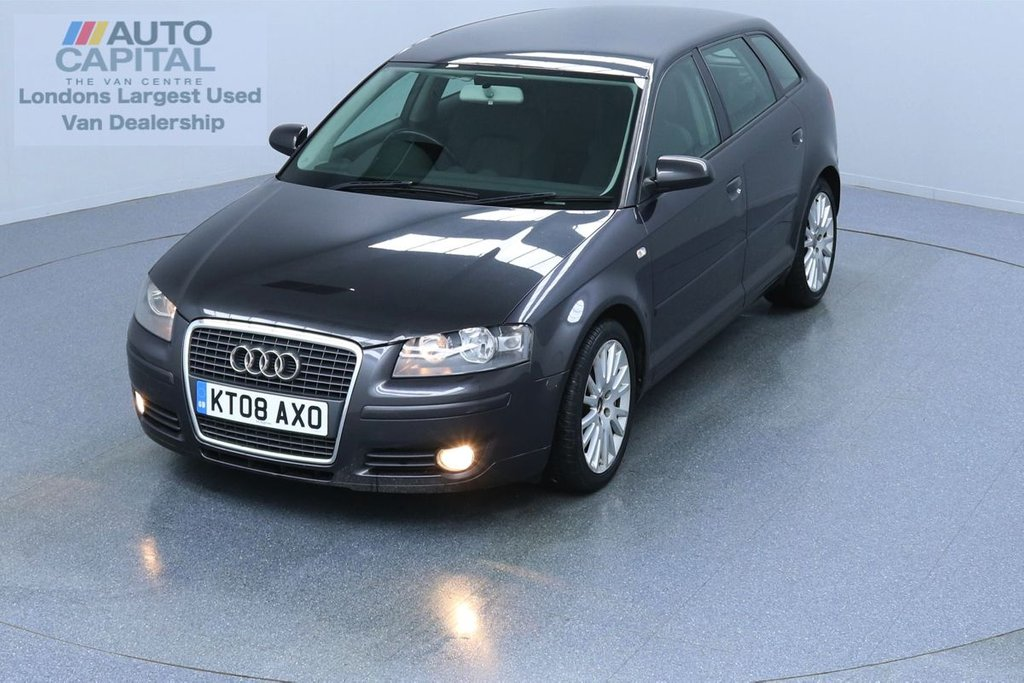 USED 2008 08 AUDI A3 2.0 TDI SPORT 168 BHP  ALLOY WHEELS, 3 OWNER