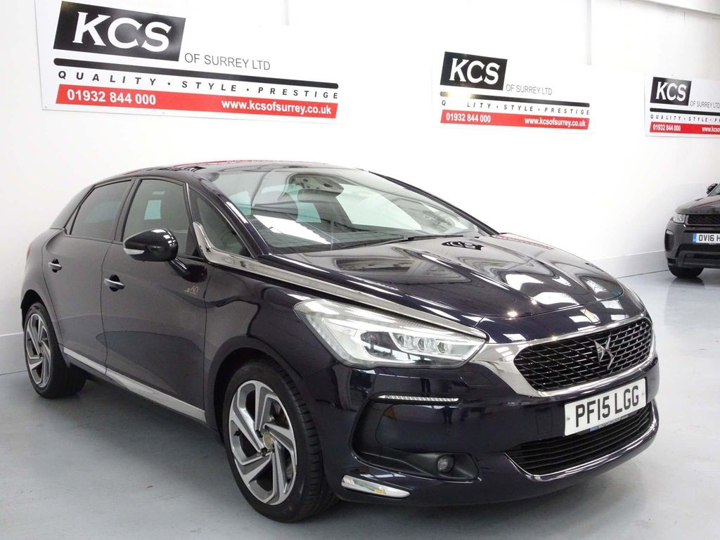 USED 2015 15 DS DS 5 2.0 BlueHDi 1955 Special Edition (s/s) 5dr SAT NAV- 3 PART PANORAMIC ROOF