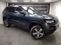 USED 2015 64 JEEP GRAND CHEROKEE 3.0 V6 CRD OVERLAND 5d 247 BHP + 1 OWNER + HISTORY + 2KEYS