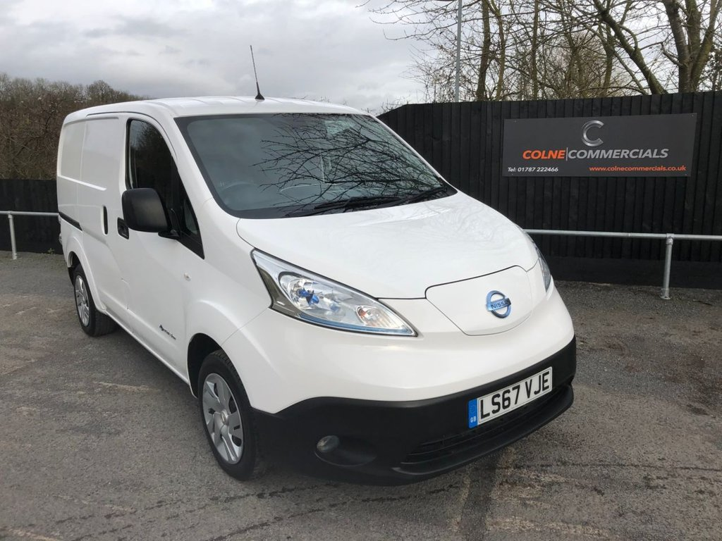 USED 2017 67 NISSAN e-NV200 ACENTA RAPID PLUS (RAPID CHARGE)(110 PS)