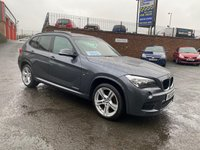 USED 2013 L BMW X1 2.0 XDRIVE20D M SPORT 5d 181 BHP FINANCE FROM £183.87 P/M £1700 DEPOSIT T&CS APPLY