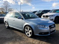 USED 2007 07 AUDI A4 AVANT 3.0 TDI QUATTRO S LINE 5d [230] Automatic  BOSE Sound System FULL SERVICE HISTORY
