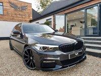 USED 2018 18 BMW 5 SERIES 3.0 540I XDRIVE M SPORT TOURING 5d AUTO 335 BHP