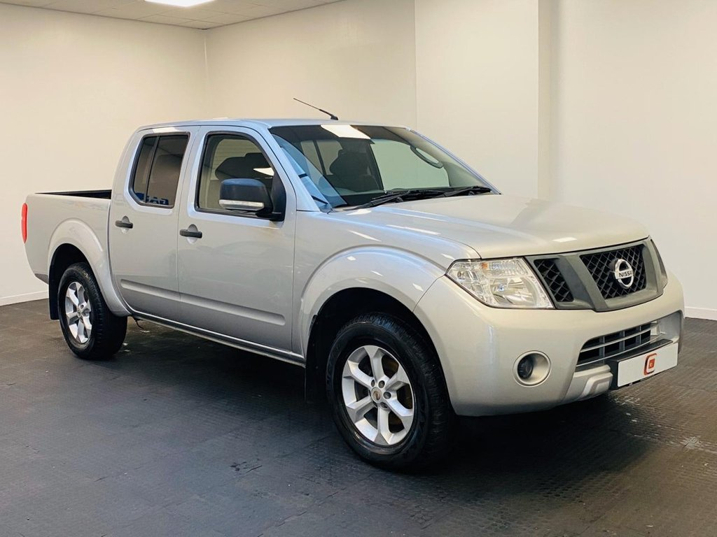 USED 2014 63 NISSAN NAVARA 2.5 DCI VISIA 4X4 SHR DCB 144 BHP NO VAT + LOW MILES + FINANCE AVAILABLE + PART EX WELCOME