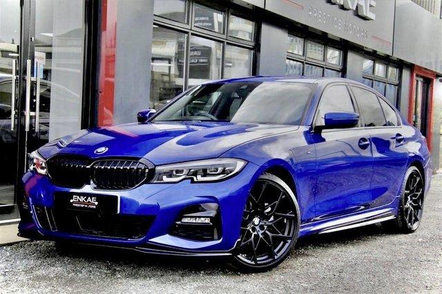 2019 68 BMW 3 SERIES 2.0 320D M SPORT 4d 188 BHP