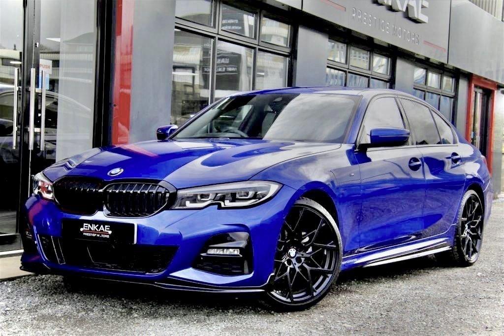 USED 2019 68 BMW 3 SERIES 2.0 320D M SPORT 4d 188 BHP