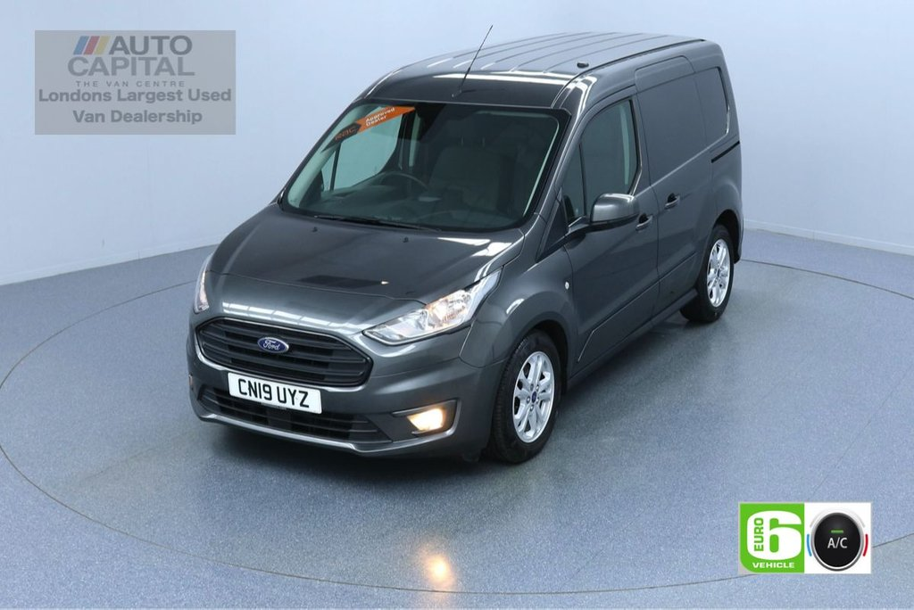 USED 2019 19 FORD TRANSIT CONNECT 1.5 200 LIMITED TDCI SWB L1H1 AUTO 120 BHP AIR CON EURO 6 KEYLESS START HEATED SEATS