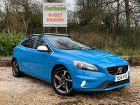 USED 2015 15 VOLVO V40 2.0 D2 R-DESIGN LUX NAV 5dr £0 Tax, 1 Owner, Sat Nav