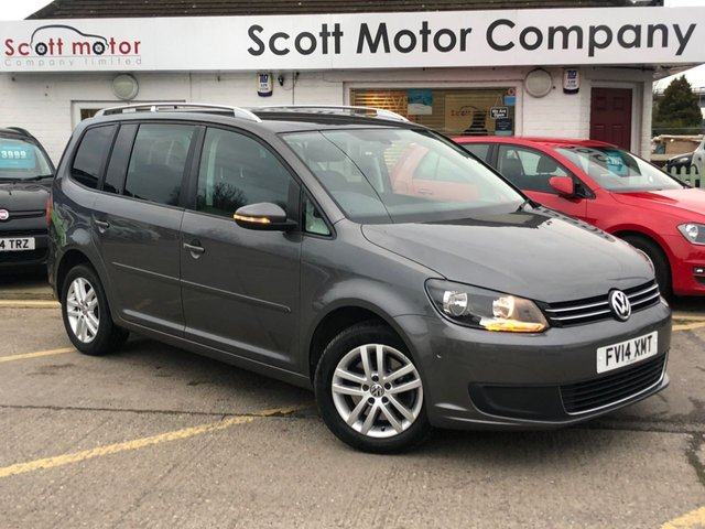 USED 2014 14 VOLKSWAGEN TOURAN 2.0 SE TDI Bluemotion Technology - 7 seats
