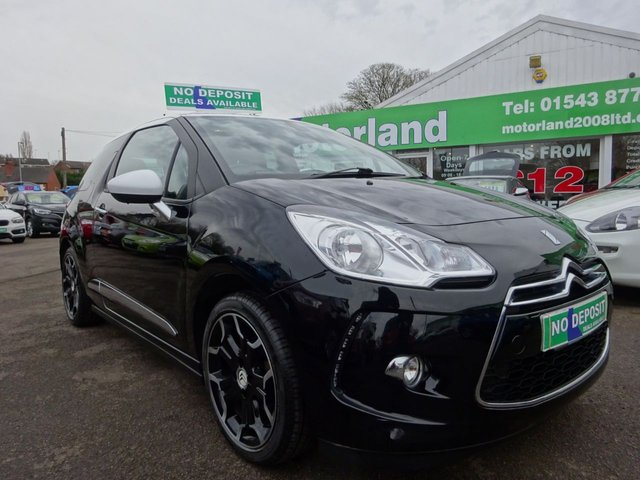 USED 2014 64 CITROEN DS3 1.6 DSTYLE PLUS 3d 120 BHP ** 01543 877320 ** JUST ARRIVED **