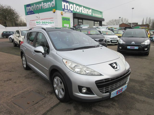 USED 2009 59 PEUGEOT 207 1.6 SW OUTDOOR HDI 5d 89 BHP