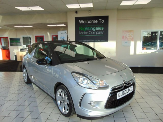 "USED 2013 63 CITROEN DS3 1.6 E-HDI AIRDREAM DSTYLE 3d 90 BHP FULL SERVICE HISTORY + JAN 2021 MOT + LOW MILES + RADIO/CD/MP3 + ZERO ROAD TAX + AIR CONDITIONING + 17"" ALLOYS + REMOTE CENTRAL LOCKING + ELECTRIC WINDOWS + FANTASTIC MPG"