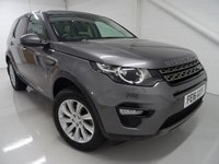 2016 LAND ROVER DISCOVERY SPORT 2.0 TD4 SE TECH 5d 180 BHP £20000.00