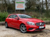 USED 2014 63 MERCEDES-BENZ A CLASS 1.5 A180 CDI BLUEEFFICIENCY SPORT 5dr £20 Road Tax, Half Leather