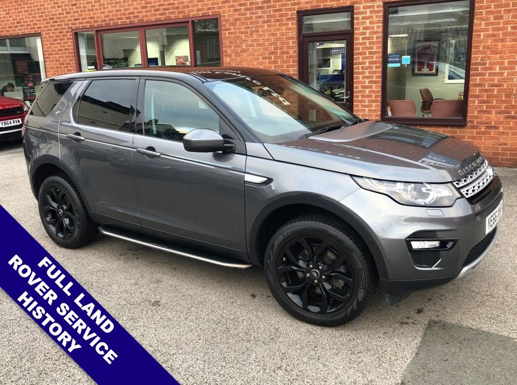"USED 2016 66 LAND ROVER DISCOVERY SPORT 2.0 TD4 HSE 5DOOR 180 BHP Family 7-Seater   :   DAB   :   Sat Nav   :   USB/AUX   :   Cruise Control / Speed Limiter       Bluetooth   : Climate Control / Air Con   :   Heated Front/Rear Seats   :   Electric Front Seats       Rear Camera  :  Heated Steering Wheel  :  Front/Rear Parking Sensors  :  19"" Alloy Wheels    2 Keys : Full Land Rover Service History"