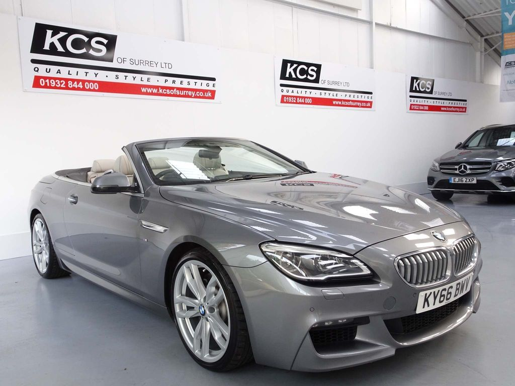USED 2016 66 BMW 6 SERIES 4.4 650i V8 M Sport Auto (s/s) 2dr M-SPORT PLUS PACK / HEAD UP