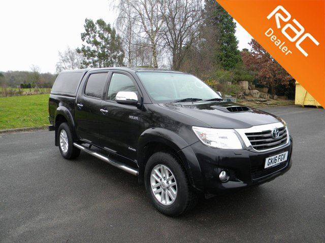 USED 2016 16 TOYOTA HI-LUX 3.0 INVINCIBLE 4X4 D-4D DCB 169 BHP Part Ex To Clear - Marks All Round