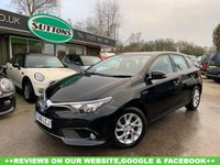 USED 2016 16 TOYOTA AURIS 1.8 VVT-I BUSINESS EDITION 5d 99 BHP