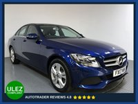 USED 2017 17 MERCEDES-BENZ C CLASS 2.1 C 300 H SE EXECUTIVE EDITION 4d AUTO 204 BHP FULL MERCEDES HISTORY - 1 OWNER - HYBRID - SAT NAV - LEATHER - PARKING SENSORS - CAMERA - AIR CON - BLUETOOTH - DAB
