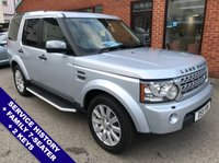 """USED 2011 11 LAND ROVER DISCOVERY 3.0 4 SDV6 HSE 5DOOR 245 BHP Family 7-Seater   :   DAB Radio   :   Satellite Navigation   :   USB Socket   :   Cruise Control       Climate Control / Air Conditioning   :   Heated Front & 2nd Row Seats   :   Electric Front Seats       Rear View Camera   :   Front & Rear Parking Sensors   :   19"""" Alloy Wheels   :   2 Keys       Service History"""