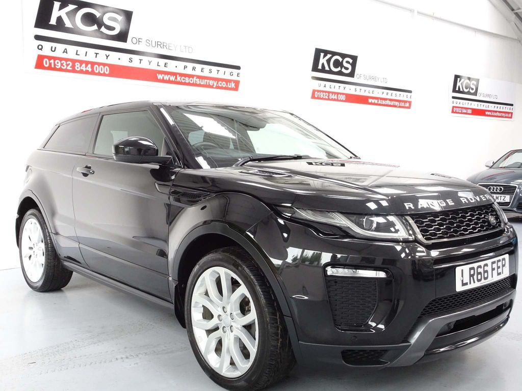 USED 2016 66 LAND ROVER RANGE ROVER EVOQUE 2.0 TD4 HSE Dynamic Auto 4WD (s/s) 3dr SAT NAV / XENONS / ELEC SEATS