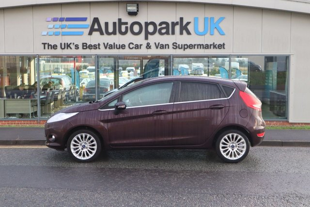 USED 2011 11 FORD FIESTA 1.4 TITANIUM 5d 96 BHP LOW DEPOSIT OR NO DEPOSIT FINANCE AVAILABLE