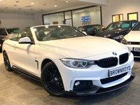 USED 2015 15 BMW 4 SERIES 2.0 420D M SPORT 2d 181 BHP BM PERFORMANCE STYLING+6.9 APR