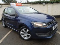 2011 VOLKSWAGEN POLO 1.2 S AIR CONDITIONING 3d 60 BHP £4499.00