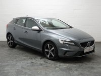 USED 2017 17 VOLVO V40 2.0 D4 R-DESIGN NAV PLUS 5d 188 BHP 1 OWNER + VOLVO HISTORY + HALF LEATHER + SAT NAV