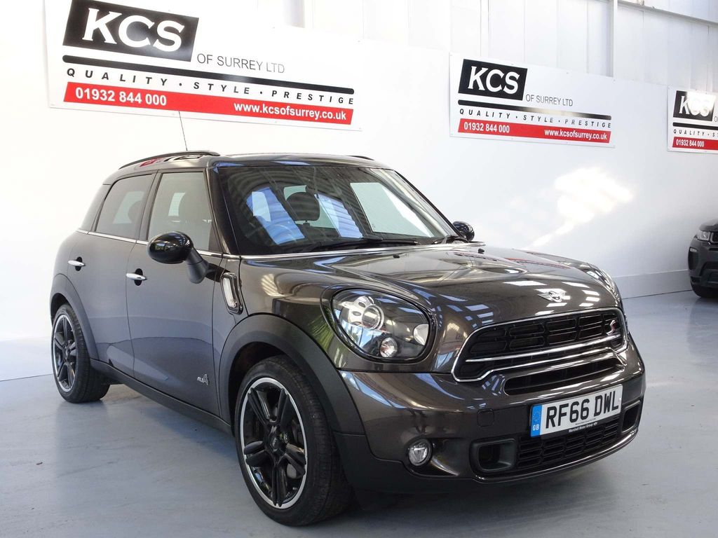 USED 2016 66 MINI COUNTRYMAN 1.6 Cooper S (Chili) ALL4 5dr CHILI PACK / SAT NAV / LEATHER