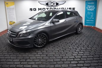 2014 MERCEDES-BENZ A CLASS 1.5 A180 CDI BLUEEFFICIENCY AMG SPORT 5d 109 BHP £11495.00