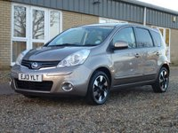 USED 2013 13 NISSAN NOTE 1.5 N-TEC PLUS DCI 5d 89 BHP www.suffolkcarcentre.co.uk - Located at Reydon