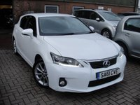 USED 2011 61 LEXUS CT 1.8 200H SE-L PREMIER 5d 136 BHP ANY PART EXCHANGE WELCOME, COUNTRY WIDE DELIVERY ARRANGED, HUGE SPEC