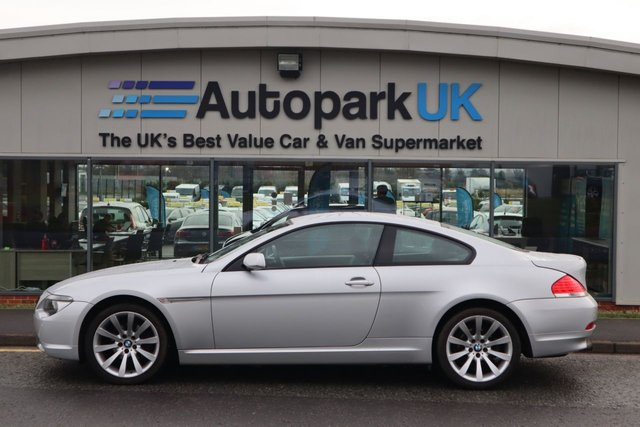 USED 2008 L BMW 6 SERIES 3.0 630I SPORT 2d 255 BHP LOW DEPOSIT OR NO DEPOSIT FINANCE AVAILABLE