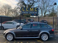 """USED 2012 62 AUDI A4 ALLROAD 2.0 ALLROAD TDI QUATTRO S/S 5d 174 BHP STUNNING MONSOON GREY METALLIC WITH MILANO BLACK LEATHER UPHOLSTERY. ONLY TWO OWNERS FROM NEW. TEN STAMPS IN THE SERVICE BOOK. 18"""" TEN SPOKE ALLOY WHEELS. AIR CONDITIONING. CRUISE CONTROL. BLUETOOTH. HEATED SEATS. ELECTRIC WINDOWS. REMOTE CENTRAL LOCKING WITH TWO KEYS. FOUR WHEEL DRIVE. PLEASE GOTO www.lowcostmotorcompany.co.uk TO VIEW OVER 120 CARS IN STOCK"""