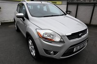 USED 2009 09 FORD KUGA 2.0 TITANIUM TDCI AWD 5d 134 BHP * 2 YEAR WARRANTY INCLUDED  *